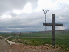 Cruz de los Valientes cerca de Grañón (La Rioja).