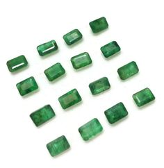 16 Pieces Wholesale Lot Of 9.10 Ct Natural Emerald Octogan Shape EM-167  Loose Gemstone Birthstone by Jewelssquare on Etsy