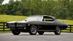 '69 Pontiac GTO Convertible. Awesome American Classic Muscle Car!