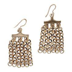 Kalevala Koru / Kalevala Jewelry / Hämäläinen juhlakääty-korvakorut / PARADISE Earrings / Material: bronze or silver
