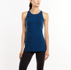 You'll love how the built-in support and high neckline provide coverage so you can keep the focus on your practice.