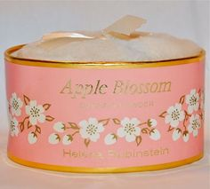 Apple Blossom Perfumed Dusting Powder Helena Rubinstein - this was (& still is) my mother's favourite perfume - my father bought her some when I was born, and I was recently able to track some down on ebay for her which made a lovely present.