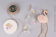 Ρομαντικός Κύκνος (κρεμαστή μπομπονιέρα)   bombonieres.com.gr Swan, Ballerina, Washer Necklace, Birthday Parties, Baby Shower, Creative, Projects, Wedding, Jewelry