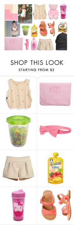 """""""Princess Gianna 👑"""" by young-thugs ❤ liked on Polyvore featuring Gerber, Gymboree, Hello Kitty and Burberry"""