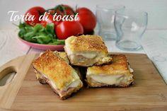 Torta di toast una ricetta per una preparazione salata adatta ad un antipasto filante e golosissimo Ricetta torta di toast