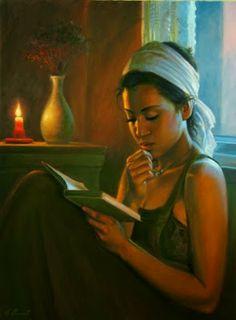Reading and Art: Emmanuel Garant
