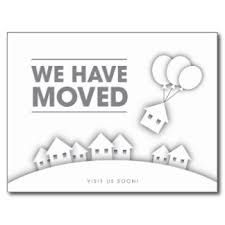 we have moved cards templates moving card change of address and cards on pinterest