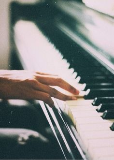 lˊm not play the piano for a long time……> Sound Of Music, My Music, Piano Music, Piano Keys, Jouer Du Piano, Ji Hoo, First Love, My Love, Homestuck