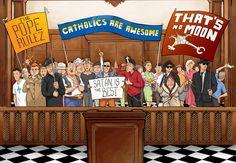 Polski komiks o Szatanie, który pozywa Kościół Katolicki jest super