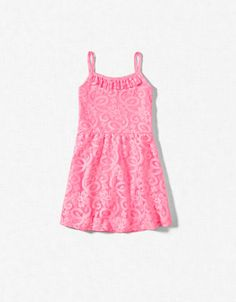 Did you know that Zara has the most AMAZING kid clothes???? CROCHET DRESS - Dresses - Girl (2-14 years) - Kids - ZARA United States a #mommy #steal at $35.90