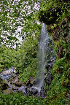 Mallyan Spout Waterfall ~ Goathland, England