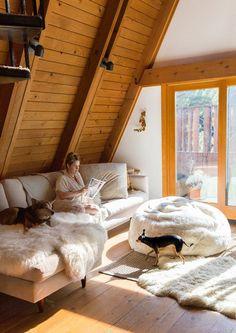 Une maison de bois au style nature et bohème   Une hirondelle dans les tiroirs