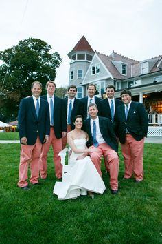 Vineyard Vines Groomsmen and Groom. This is how I want them to look at my wedding