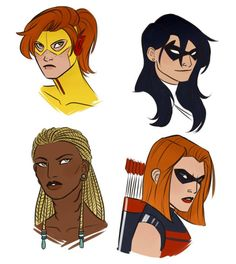 young justice invasion gender swap fan art - Google Search
