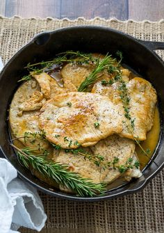Nutritious Snack Tips For Equally Young Ones And Adults I Can't Believe How Quick These Rosemary And Thyme Turkey Breast Cutlets Came Together. My Whole Family Loved These I Love How It Uses Just One Skillet Turkey Steak Recipes, Turkey Cutlet Recipes, Cutlets Recipes, Chicken Recipes, Sausage Recipes, Turkey Tenderloin, Turkey Cutlets, Baked Turkey, Cooking Recipes