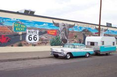 Get your kicks on Route 66 - specifically in Tucumcari.