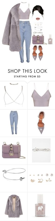 Untitled #2596 by mrkr-lawson on Polyvore featuring TIBI, Givenchy, Valentino, Full Tilt, Forever 21, Nevermind and FOSSIL