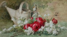 (3) Gallery.ru / Фото #1 - Paul De Longpre - lanaluz
