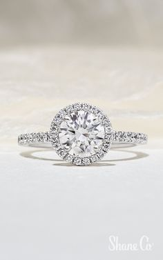 You can always add a decorative crown to your solitaire engagement ring to create a stunning halo design! Article Numbers: 41066075, 41045046 Halo Engagement Rings, Halo Rings, Online Gifts, Types Of Metal, Jewelry Collection, Numbers, Fine Jewelry, White Gold, Rose Gold