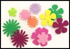 Image result for foam flowers craft