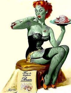 cori is raising funds for Zombie Pin Up Calendar 2013 on Kickstarter! This will be our first annual Zombie Pin Up Calendar x 11 full color, glossy. Featuring NOVA's hottest Pin Up Models! Zombie Pin Up, Art Zombie, Zombie Girl, Zombie Style, Zombie Walk, Dead Zombie, Pin Up Vintage, Vintage Art, Pinup Art
