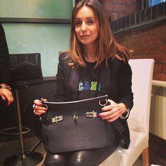 Say hello to Louise Redknapp's Hermes handbag #HandbagSpy  www.handbag.com