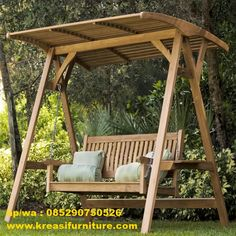 Ayunan Jati ini dibuat menggunakan bahan kayu jati perhutani yang berkualitas serta di desain dengan konsep modern minimalis serta kontruksi yang kuat