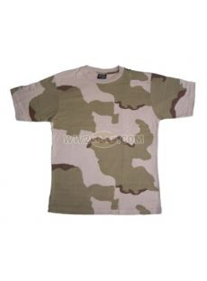 Camo Us Tri Colour Desert T Shirt