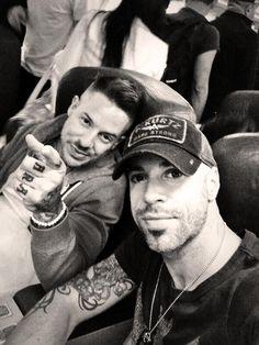 Chris Daughtry and Josh Paul