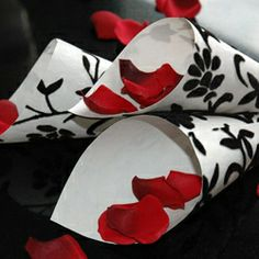 Black Red and White