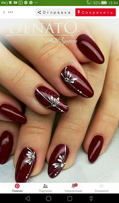 Prom Nails, My Nails, Coffin Nails, Acrylic Nails, Nails Today, Manicure Tips, Accent Nails, Easy Nail Art, Nail Art Galleries