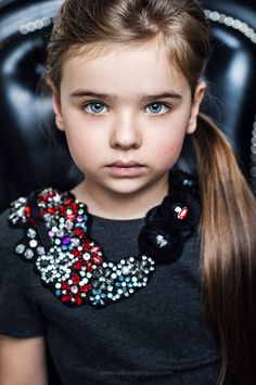 Sofia Fanta (born 2007) fashion child model from Russia. Nadya Sokologorskaya Photography.
