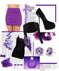 """Purple"" by amalia-plocon on Polyvore"