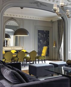 interiors - December/January 2015.  Grand Luxe in Paris