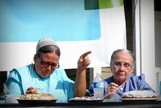 Pie contest - Pinecraft, FL, Amish vacation spot.