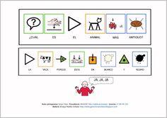 MATERIALES - Chistes.    Chistes adaptados con pictogramas para facilitar su comprensión.    http://arasaac.org/materiales.php?id_material=234