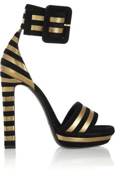 gold and black stripes