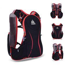 AONIJIE 5L Sports Running Vest Backpack Marathon Hydration Water Bag Pack Holder