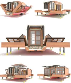 Interesting new concept in mobile, prefab homes