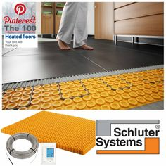 December Product Feature!   Centura London and Windsor   Heated Floors