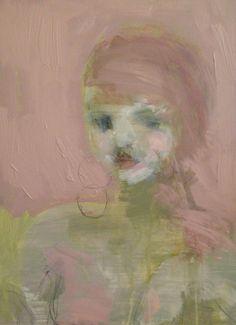 """Earrings from a stranger"", portrait by Jorunn Mulen Inspiring Art, Beautiful Artwork, Painting & Drawing, Art Ideas, Mixed Media, Portraits, Paintings, Drawings, Wood"