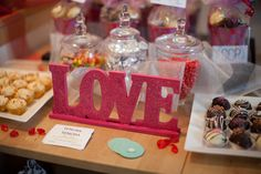 Valentine's Day Boudoir Sweet Table #valentinesday #sweets #table #desserts #pink #love