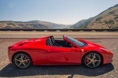 2014 Ferrari 458 Spider review...vroom vroom!!!