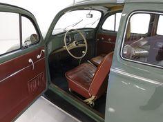 1957 VOLKSWAGEN OVAL WINDOW BEETLE — Daniel Schmitt & Company