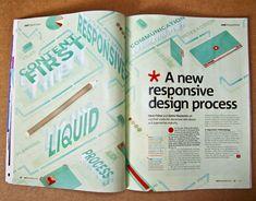 .NET MAGAZINE Editorial Design Inspiration