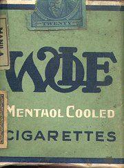 1935 cigarette pack