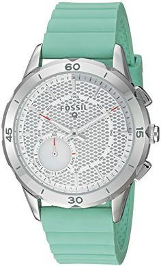 7fb97beaf386 Women s Smartwatches - Fossil Q Modern Pursuit Gen 2 Womens Mint Green  Silicone Hybrid Smartwatch FTW1134