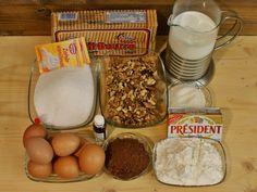 Prăjitură cu blat din bezea cu nucă și cremă de vanilie – Vicky's Recipes Cake Recipes, Dessert Recipes, Desserts, Biscuit, Dairy, Breakfast, Food, Erika, Coca Cola