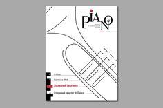 magazine about classical music by Irina Milenina, via Behance