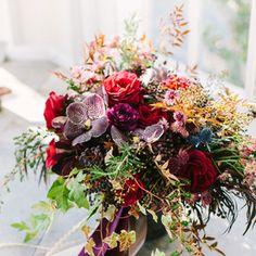 Natural Wedding Flower Arrangements
